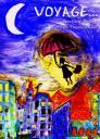 Affiche spectacle VOYAGE… (Peinture de Florencia Avila)