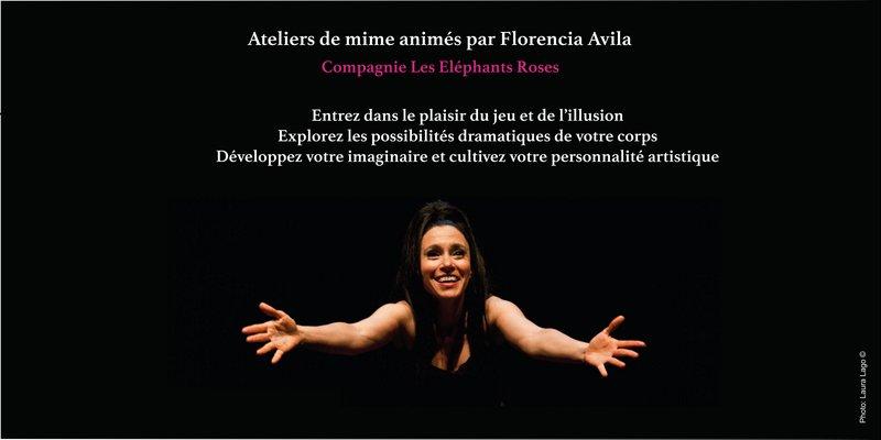 Ateliers mime 2017 par Florencia Avila