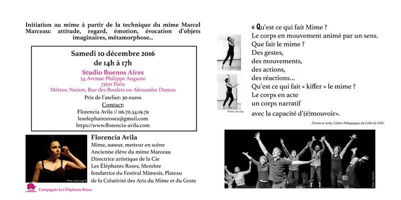 flyer-wb-atelier-mime-florencia-avila-verso-cie-les-elephants-roses